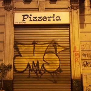 Stangata a Milano: prima multa di 450 Euro al writer MS