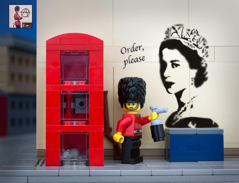 Dalle gifs animate al Lego: il sistema Banksy