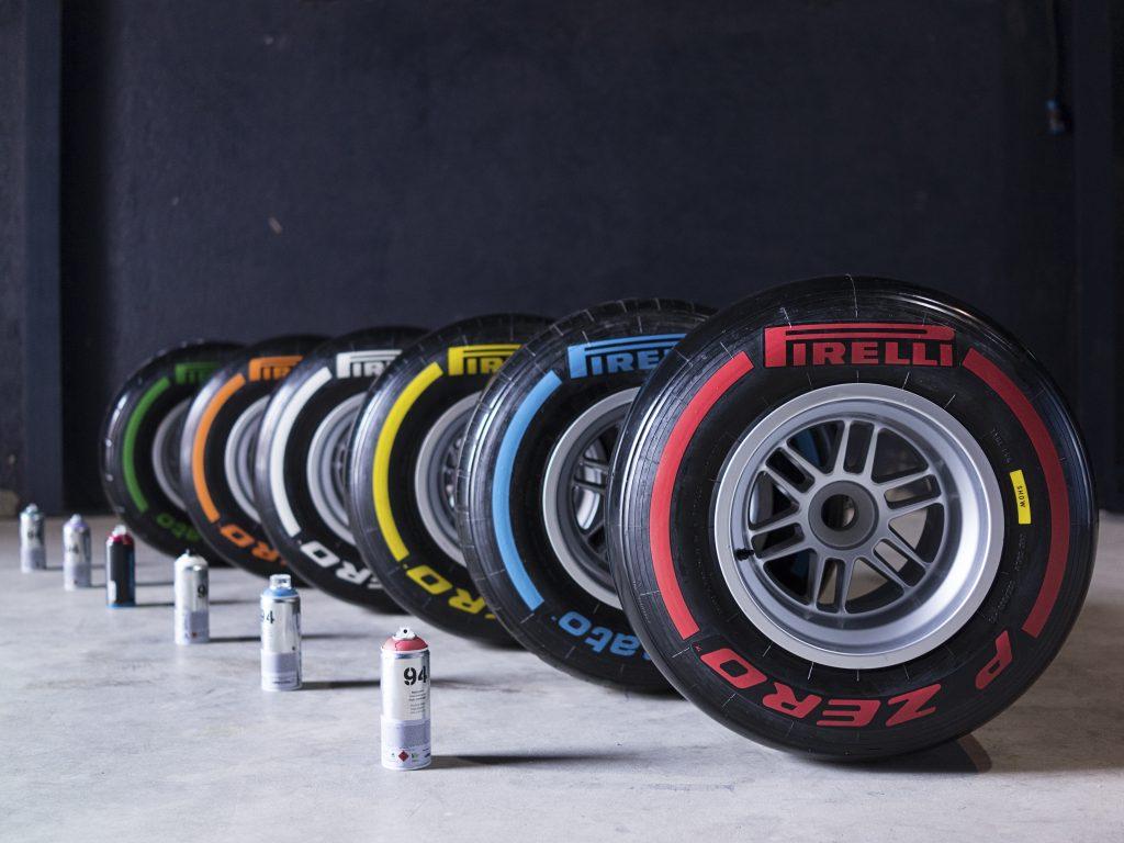Numeri a colori per Pirelli