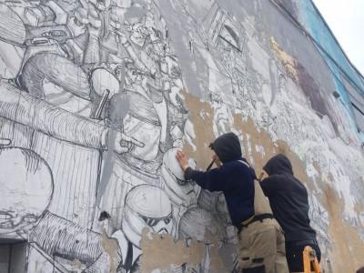 Bologna, Blu cancella vent'anni di murales in città