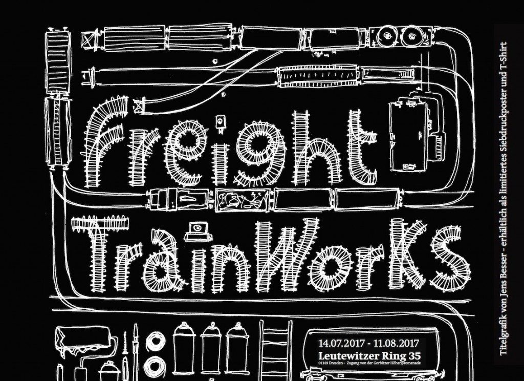 "Arte sui treni merci, in Germania arriva la mostra ""Freight Train Works"""
