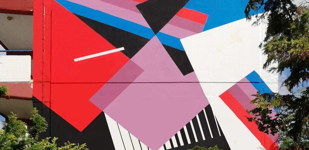 """La """"Natura Razionale"""" di Greg Jager all'Athens Street Art Festival"""