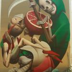 Zed1 porta alla decima edizione di Desvelarte la sua Alejar a la muerte