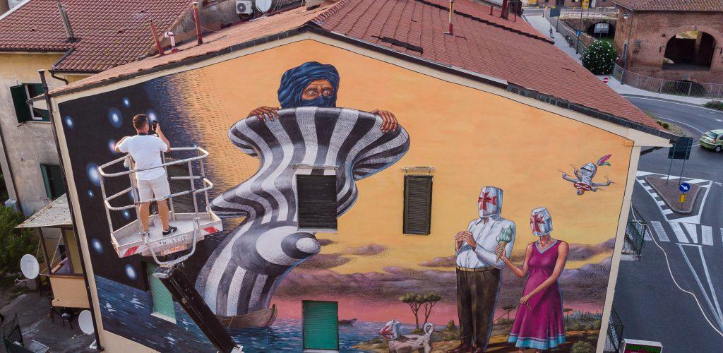 È tornato lo Street Art Festival – Welcome To Pisa, giunto alla sua seconda edizione