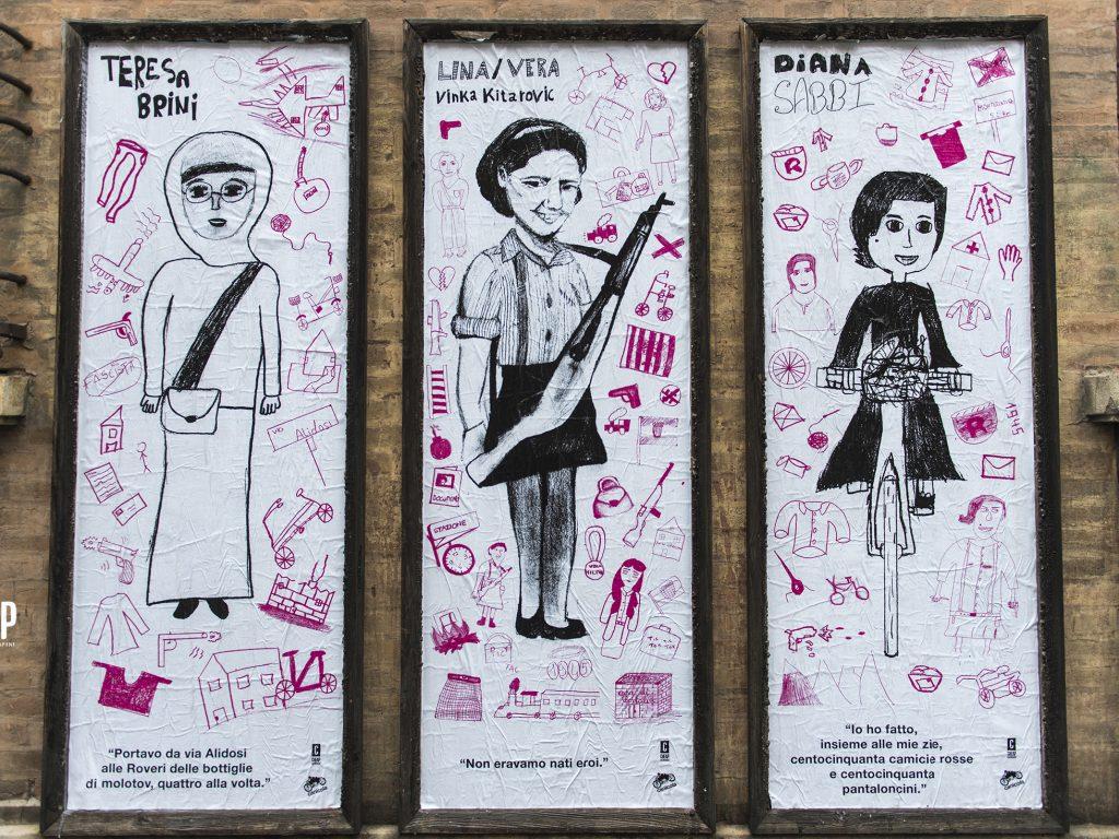 La storia delle Staffette Partigiane raccontata a Bologna dai ragazzi delle medie