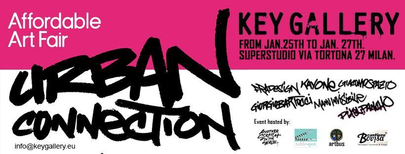 Urban Connection, la rassegna di Key Gallery ad Affordable Art Fair (e con noi di Another Scratch In The Wall)