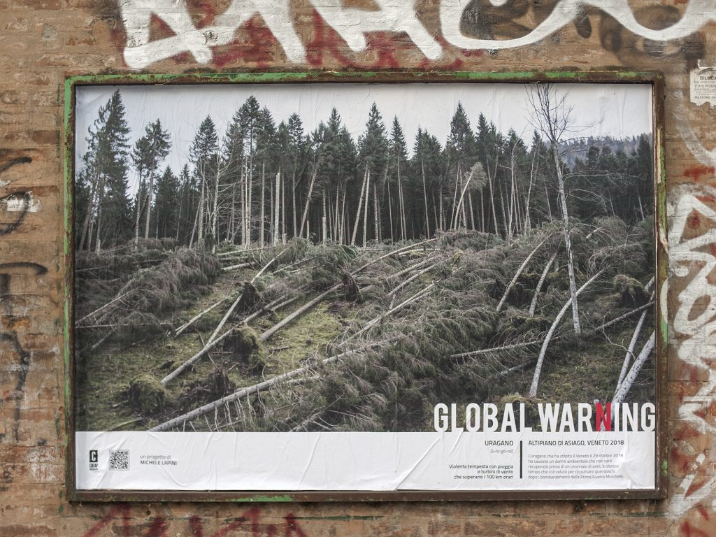 Global Warning, la nuova affissione di CHEAP assieme a Michele Lapini