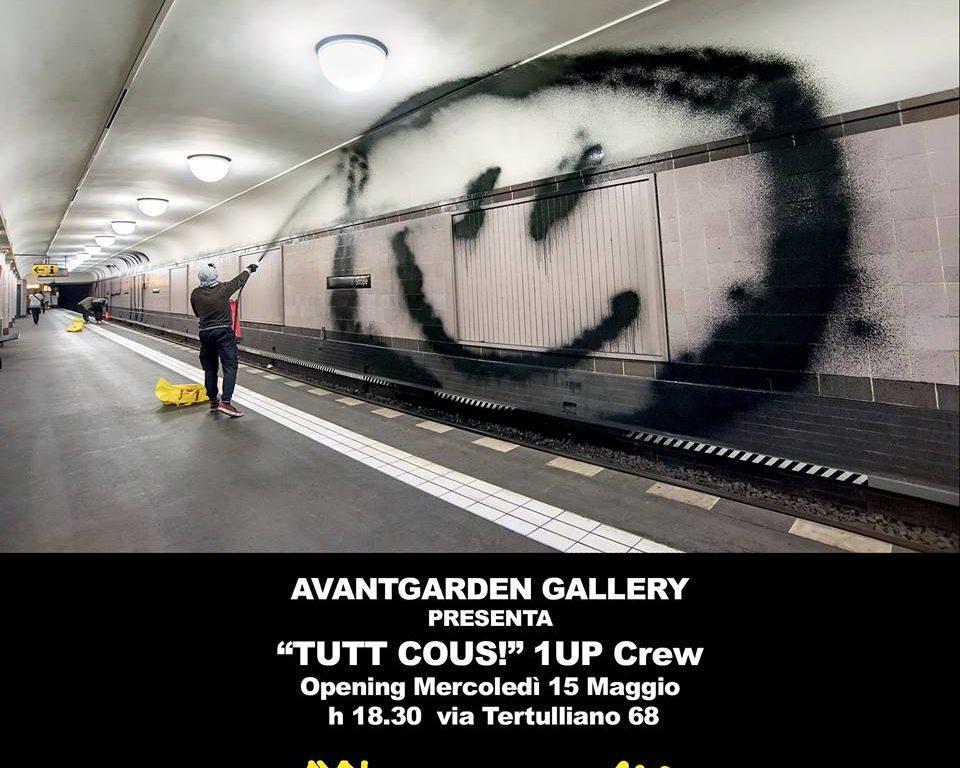 """Nel nuovo spazio dell'Avantgarden Gallery inaugura """"TUTT COUS!"""", la prima mostra italiana dei1UP"""