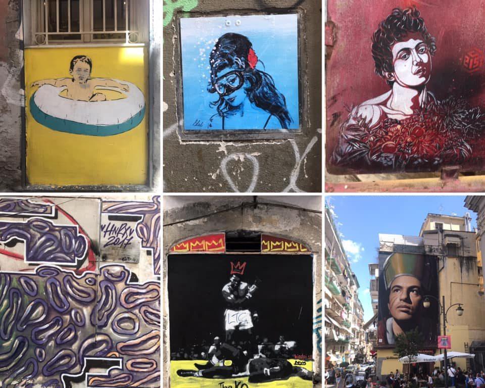 Viaggio a Napoli, tra il centro storico, il Parco dei Murales di Ponticelli e lo Scugnizzo Liberato
