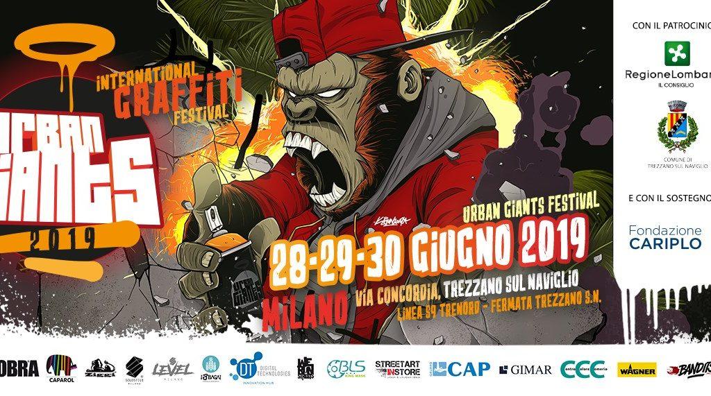 Torna lo Urban Giants Festival a Trezzano sul Naviglio