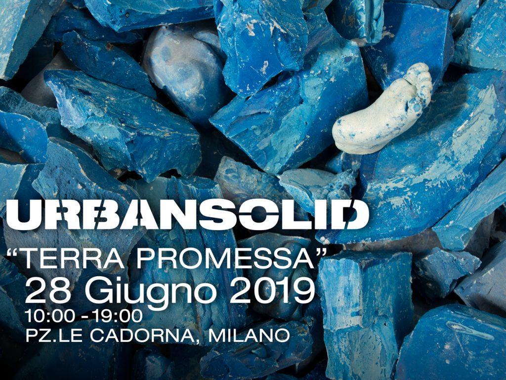 Terra Promessa, la nuova installazione site specific di Urbansolid a Milano