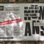 UDHR – posters for Human Rights: il nuovo lavoro di CHEAP per Resilienze Festival