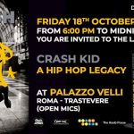 Crash Kid – A Hip Hop Legacy, il nuovo libro edito da Drago