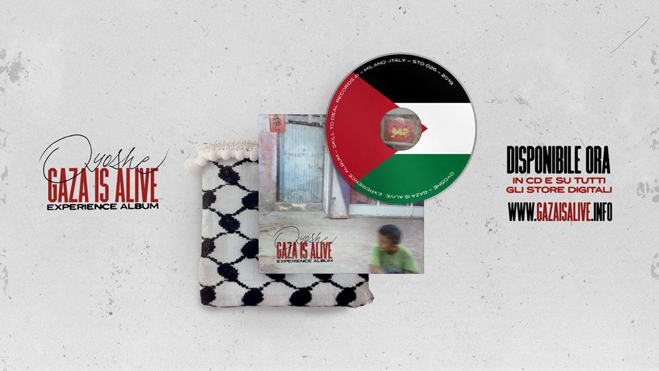 Gaza Is Alive Experience Album: il disco (e il racconto) sei mesi dopo