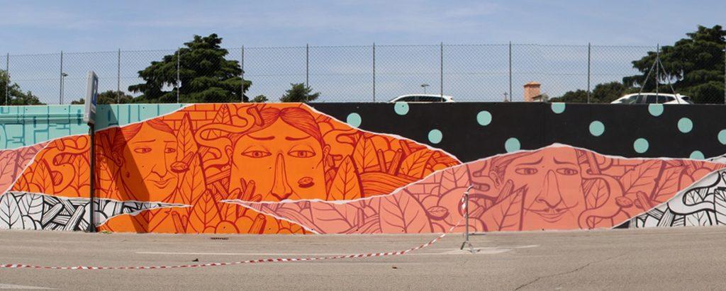 L'opera di SeaCreative per RAME Project a Bassano del Grappa