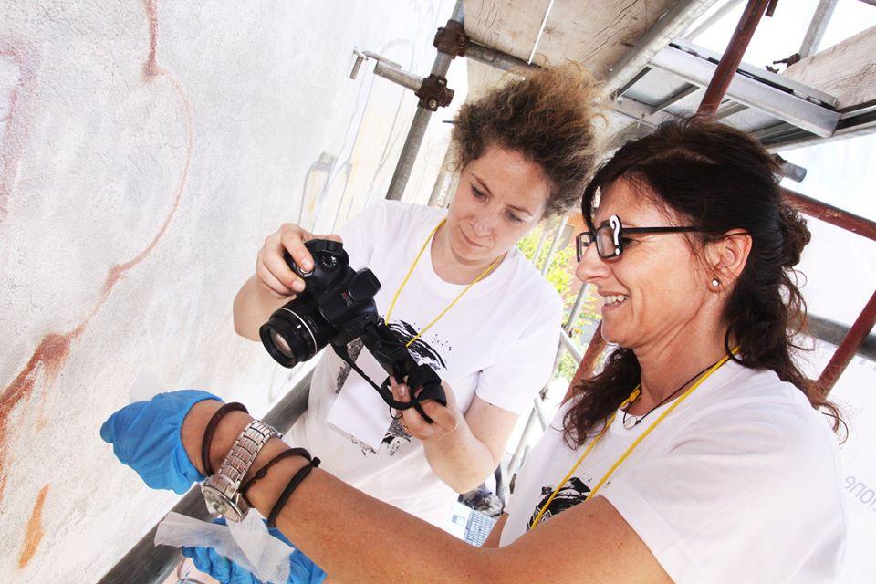Scratch Live: si può restaurare l'Urban Art? Intervista ad Alessandra Carrieri ed Elena Astolfi