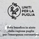 Uniti per la Puglia: arte all'asta a sostegno della Regione Puglia