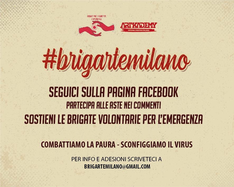 Brigarte, il progetto artistico e solidale delle Brigate Volontarie per l'Emergenza