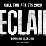 RECLAIM, la (preveggente) call for artists 2020 di CHEAP