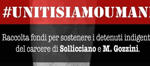#unitisiamoumani, l'asta per i detenuti di Sollicciano e dell'Istituto Gozzini